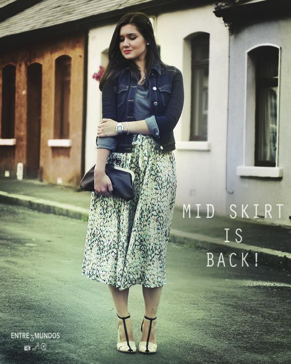 Mid Skirt IS BACK